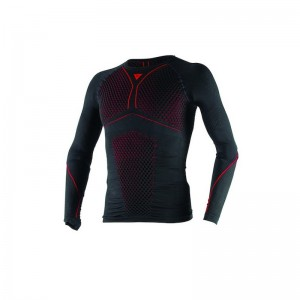 ТЕРМОБЕЛЬЕ Dainese D-CORE THERMO TEE LS, BLK/RED, L